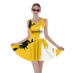 Castle Cat Evil Female Fictiona Skater Dress