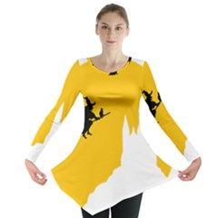 Castle Cat Evil Female Fictiona Long Sleeve Tunic
