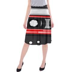 Compact Cassette Musicassette Mc Midi Beach Skirt