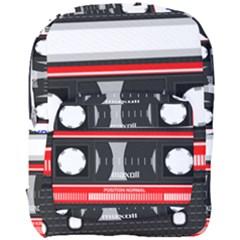 Compact Cassette Musicassette Mc Full Print Backpack by Nexatart