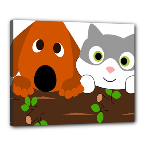 Baby Decoration Cat Dog Stuff Canvas 20  X 16
