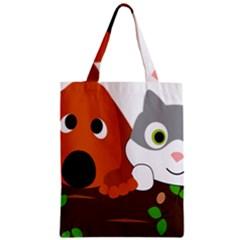 Baby Decoration Cat Dog Stuff Zipper Classic Tote Bag