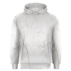 White Marble Tiles Rock Stone Statues Men s Overhead Hoodie