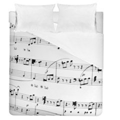 Abuse Background Monochrome My Bits Duvet Cover (queen Size)