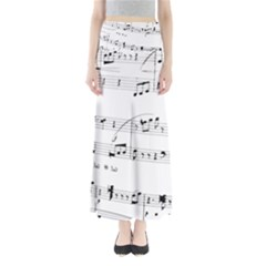 Abuse Background Monochrome My Bits Full Length Maxi Skirt