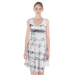 Abuse Background Monochrome My Bits Racerback Midi Dress