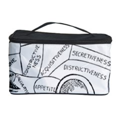 Brain Chart Diagram Face Fringe Cosmetic Storage Case