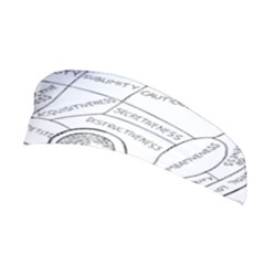Brain Chart Diagram Face Fringe Stretchable Headband