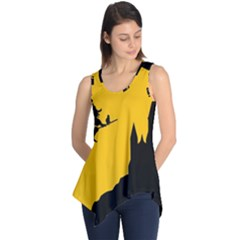 Castle Cat Evil Female Fictional Sleeveless Tunic