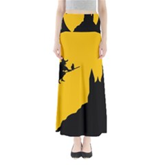 Castle Cat Evil Female Fictional Full Length Maxi Skirt