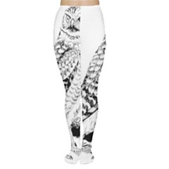 Animal Bird Forest Nature Owl Women s Tights