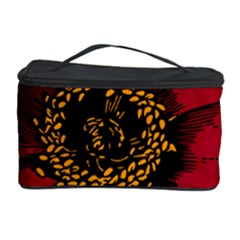 Floral Flower Petal Plant Cosmetic Storage Case