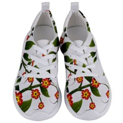 Flower Branch Nature Leaves Plant Women s Lightweight Sports Shoes