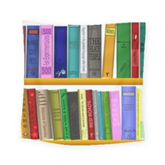 Shelf Books Library Reading Square Tapestry (small)