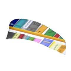 Shelf Books Library Reading Stretchable Headband