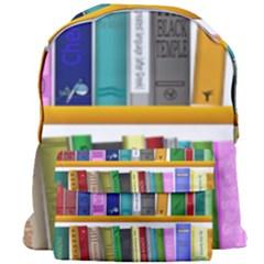 Shelf Books Library Reading Giant Full Print Backpack