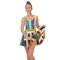 Shelf Books Library Reading Inside Out Dress