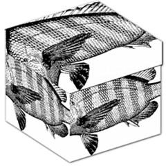 Animal Fish Ocean Sea Storage Stool 12