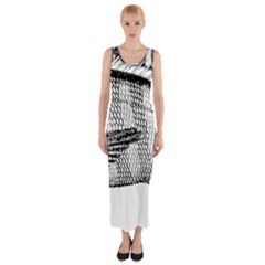 Animal Fish Ocean Sea Fitted Maxi Dress