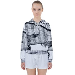 Animal Fish Ocean Sea Women s Tie Up Sweat