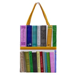 Shelf Books Library Reading Classic Tote Bag