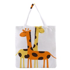 Giraffe Africa Safari Wildlife Grocery Tote Bag