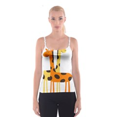 Giraffe Africa Safari Wildlife Spaghetti Strap Top