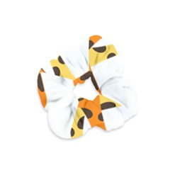 Giraffe Africa Safari Wildlife Velvet Scrunchie