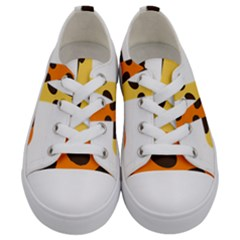 Giraffe Africa Safari Wildlife Kids  Low Top Canvas Sneakers