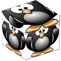 Penguin Birds Aquatic Flightless Storage Stool 12
