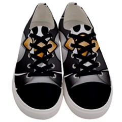 Penguin Birds Aquatic Flightless Men s Low Top Canvas Sneakers