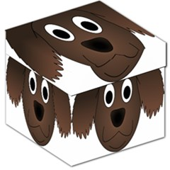 Dog Pup Animal Canine Brown Pet Storage Stool 12