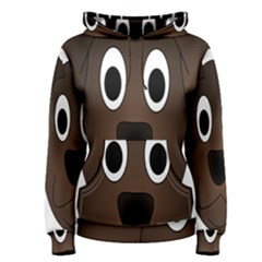 Dog Pup Animal Canine Brown Pet Women s Pullover Hoodie