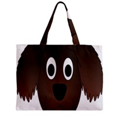 Dog Pup Animal Canine Brown Pet Medium Tote Bag