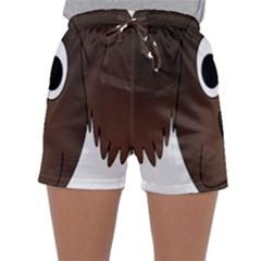 Dog Pup Animal Canine Brown Pet Sleepwear Shorts