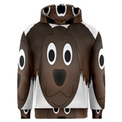 Dog Pup Animal Canine Brown Pet Men s Overhead Hoodie