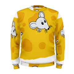 Rat Mouse Cheese Animal Mammal Men s Sweatshirt