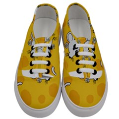 Rat Mouse Cheese Animal Mammal Men s Classic Low Top Sneakers