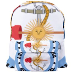 Argentine Naval Aviation Patch Giant Full Print Backpack