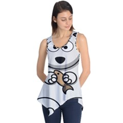 Bear Polar Bear Arctic Fish Mammal Sleeveless Tunic