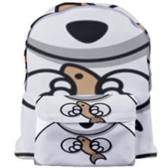 Bear Polar Bear Arctic Fish Mammal Giant Full Print Backpack