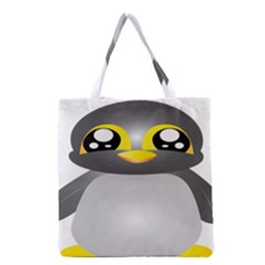Cute Penguin Animal Grocery Tote Bag