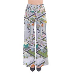 Simple Map Of The City So Vintage Palazzo Pants