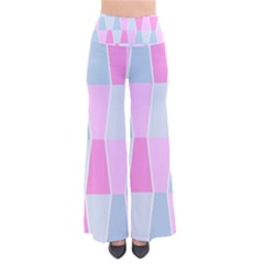 Geometric Pattern Design Pastels So Vintage Palazzo Pants