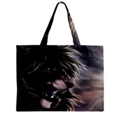 Angry Lion Digital Art Hd Mini Tote Bag