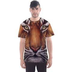 The Tiger Face Men s Sports Mesh Tee