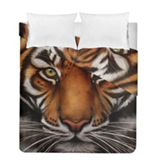 The Tiger Face Duvet Cover Double Side (full/ Double Size)