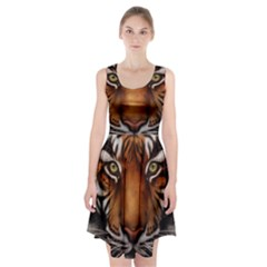 The Tiger Face Racerback Midi Dress