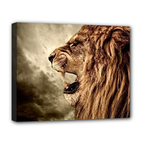 Roaring Lion Deluxe Canvas 20  X 16