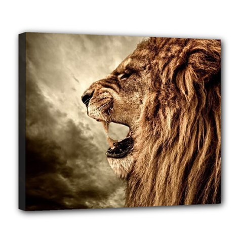 Roaring Lion Deluxe Canvas 24  X 20